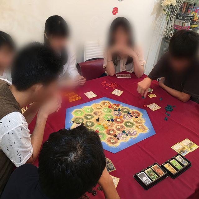 先日のカタンナイト!カタンの魅力にはまり始めている人が増えてきた♪ #広島#ボドゲ #ボードゲーム部 #ボードゲームカフェ#カタン#カタンの開拓者 #カタンの開拓者たち